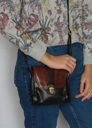 Интересная сумка la toscana, италия, натуральная кожа