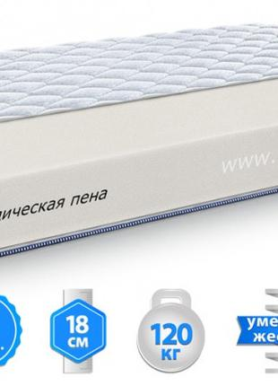 "Матрас ЕММ ""Argon"" Sleep&Fly Silver Edition, h=18 см"