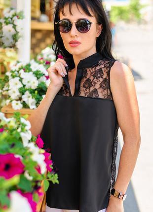 "Женские блузки ""Katty"" черная"