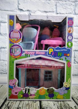Игровой набор от Свинки Пеппы и ее семьи + подарок