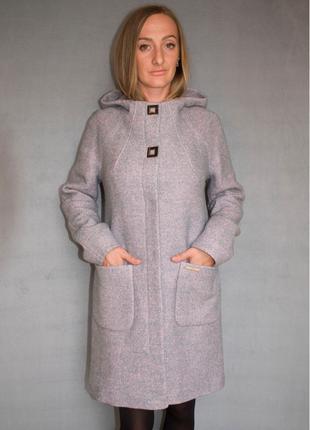 Пальто женское №52 ЗИМА (розовый)