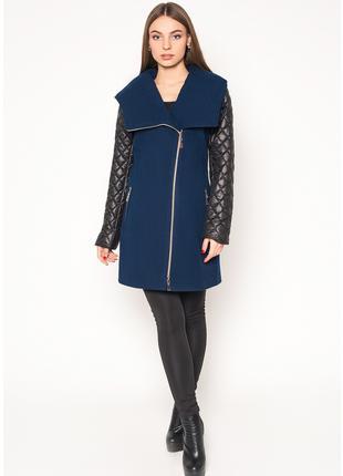 Пальто женское №42 (синий)