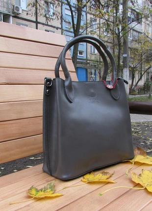 Женская кожаная сумка от тм alex rai.