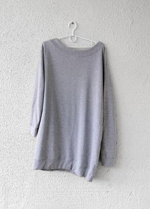Платье свитшот на одно плечо