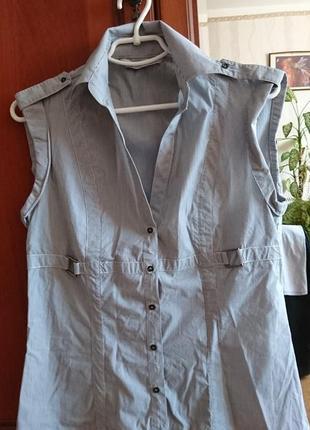 Рубашка-безрукавка