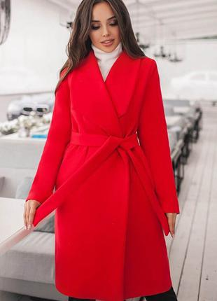 Классическое пальто на подкладке Белла