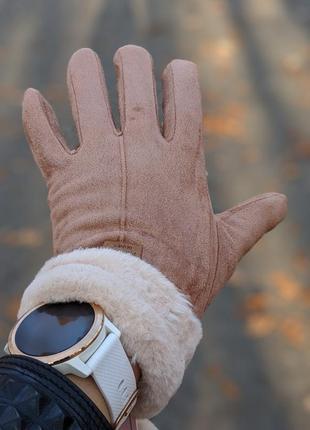Песочные сегсорные женские перчатки