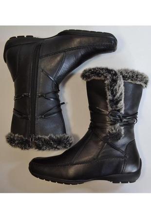 Теплые качественные кожаные сапоги от go flexa 1000пар тут!