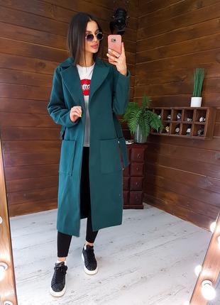 """Модное яркое пальто """"Вероника"""""""