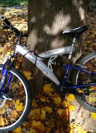 Велосипед, ДХ, двох подвес