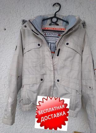 Куртка лыжная icepeak waterproof s xs термо трекинг мембрана