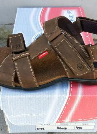 Босоножки сандалии кожаные мужские
