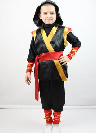 Детский карнавальный костюм для мальчика «НИНДЗЯ»