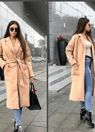 Женское пальто на подкладке 2021 все размеры до 70 р