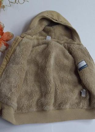 Зимняя детская жилетка на меху размер 86