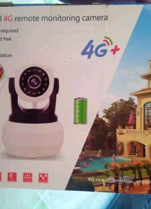 3G/4G/wifi  PTZ поворотна камера відеонагляду