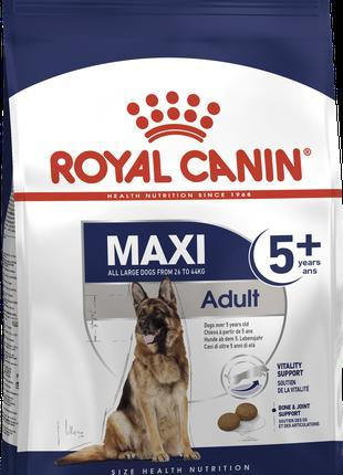 Сухой корм для собак Роял Канин Royal Canin MAXI ADULT 5+, 4 кг