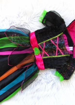 Стильное нарядное платье костюм с плащом tu