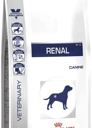 Сухой корм для собак Роял канин Royal Canin RENAL CANINE, 2 кг