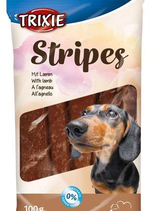 Лакомство для собак и щенков Trixie Stripes с ягнёнком 100г