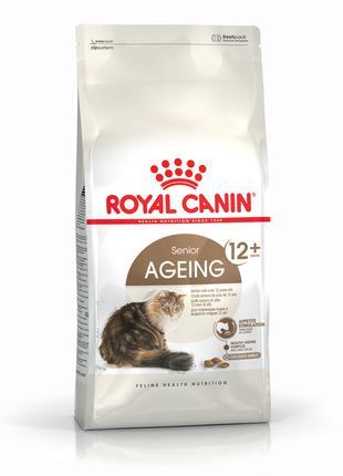 Сухой корм для пожилых котов Royal Canin AGEING 12+, 400 г