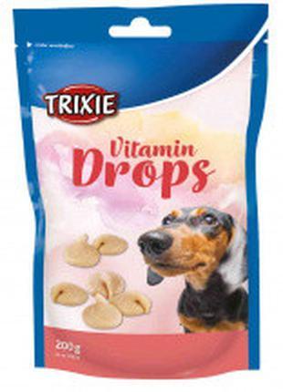 Лакомство для собак и щенков trixie Drops бекон 200г