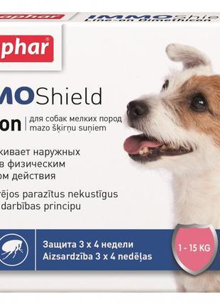 Капли для собак от блох и клещей 1-15 кг, Beaphar IMMO Shield,...