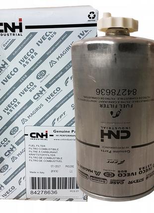 Фильтр топливный (оригинал CNH) кат. ном. 84278636