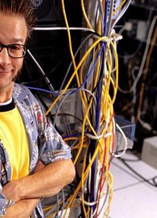 Обслуживание компьютеров и компьютерных сетей, серверного обор...