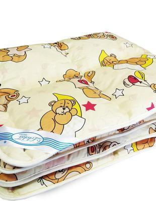 Одеяло детское шерстяное - 105*140 2