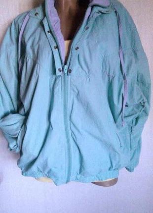 Куртка ,ветровка спортивная adidas. размер l-xl