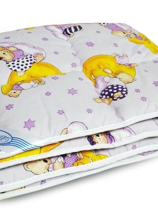 Одеяло детское шерстяное - 105*140
