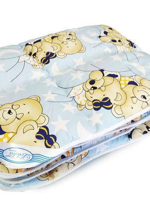 Одеяло детское шерстяное - 105*140 4