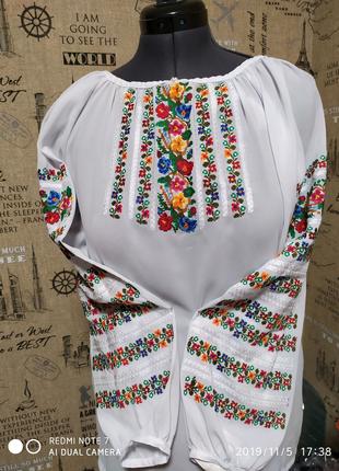 Вишиванка жіноча вишита сорочка