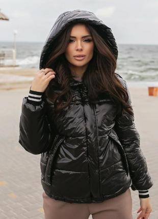Куртка плащевка зима!
