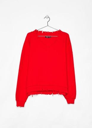 Ультра модный женский свитер bershka испания