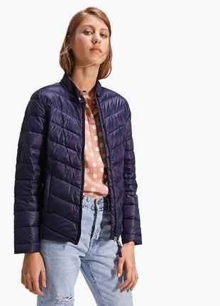Куртка-пуховик женская stradivarius испания