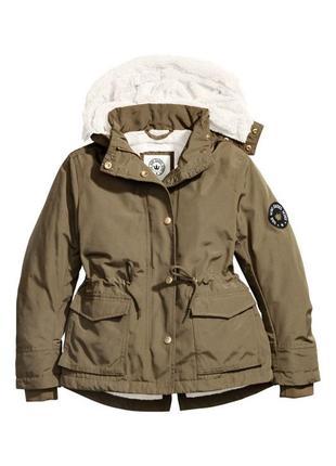 Куртка-парка для девочки-подростка h&m