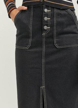 Юбка женская джинсовая stradivarius испания