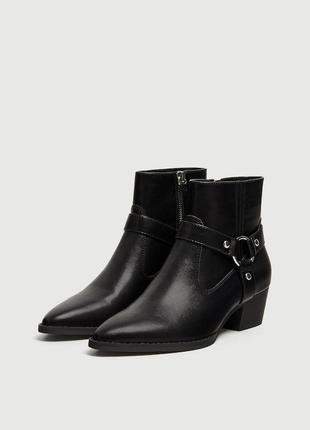 Ботинки женские pull&bear испания
