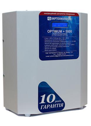 Стабилизатор напряжения Укртехнология Optimum НСН-5000 (25А)