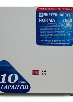 Стабилизатор напряжения Укртехнология Norma НСН-7500 (40А)