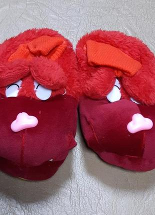 Тапочки носки 22-23 р. 13,5 см собачки
