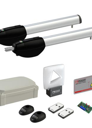 Комплект автоматики для распашных ворот Roger KIT BE20/210