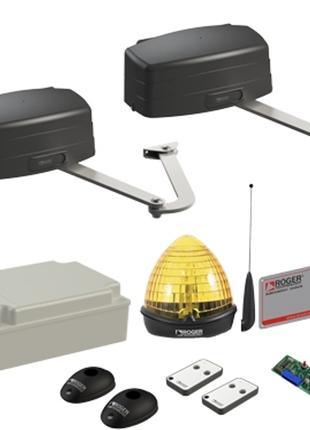 Комплект автоматики для распашных ворот Roger KIT R23/374