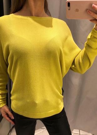 Легкий салатовый свитер пуловер reserved есть размеры