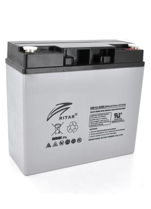 Аккумуляторная батарея AGM Ritar HR1250W 12V 14.0Ah