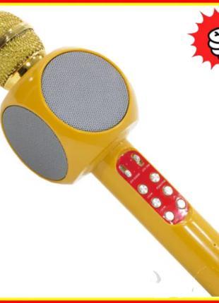 Микрофон караоке WSTER WS-1816 - беспроводной Bluetooth микроф...