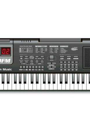 Детский синтезатор, пианино, орган MQ-010FM от сети, 61 клавиш...