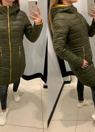 Двусторонне осеннее пальто куртка mohito есть размеры